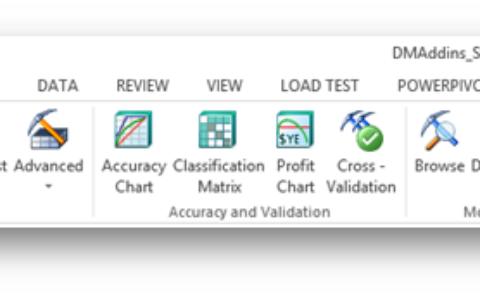 Excel数据挖掘插件