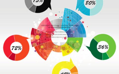 30套信息图表模版源文件下载
