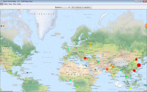 挖掘软件   KNIME挖掘软件进行地图可视化呈现