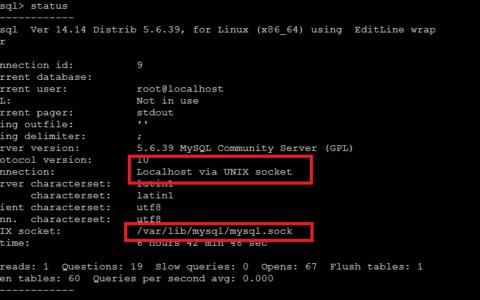 MYSQL连接之127.0.0.1和localhost!