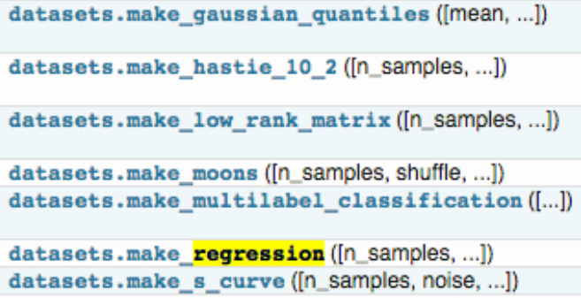 ML神器:sklearn的快速使用