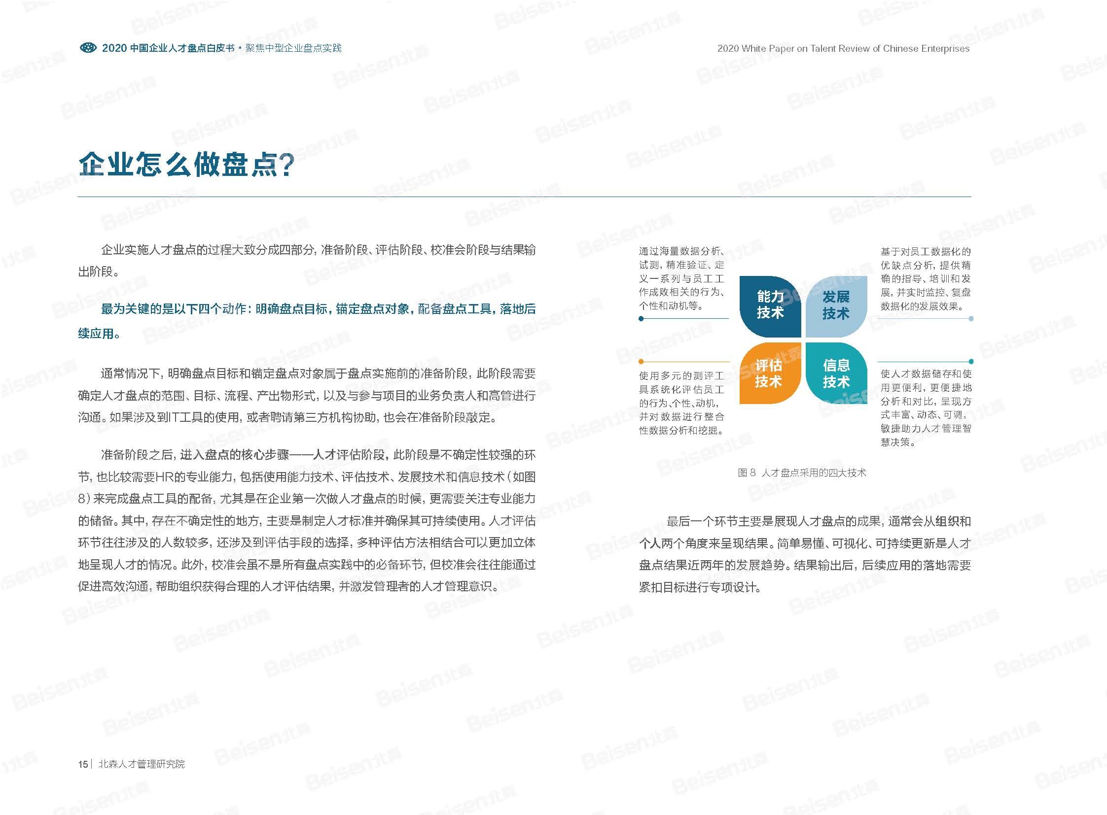 大数据研究报告,北森:2020中国企业人才盘点白皮书!