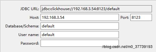 Clickhouse安装及使用