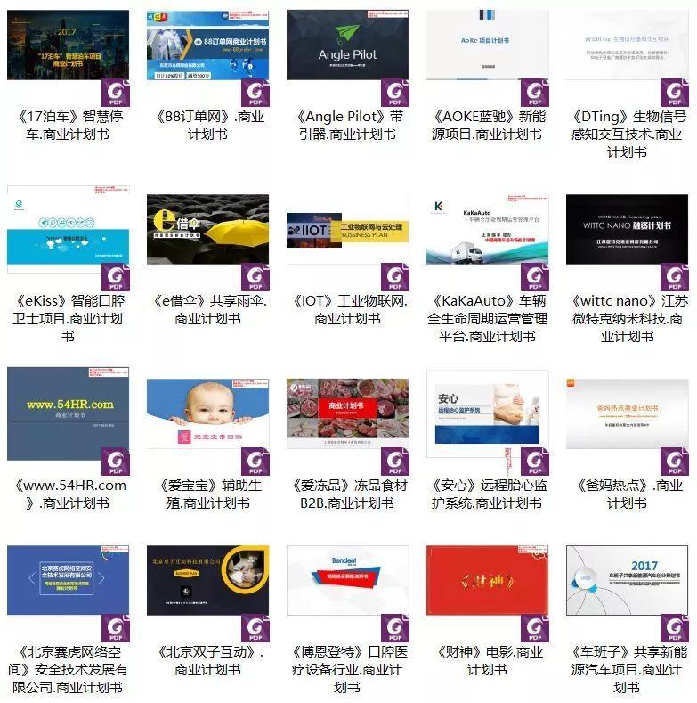 BP商业计划书撰写攻略(附250份时下最热项目商业计划书和模板)!