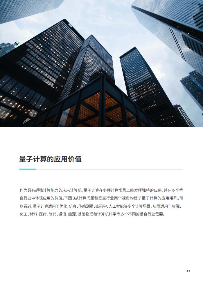 大数据研究报告,微众银行:2020金融量子计算发展报告!