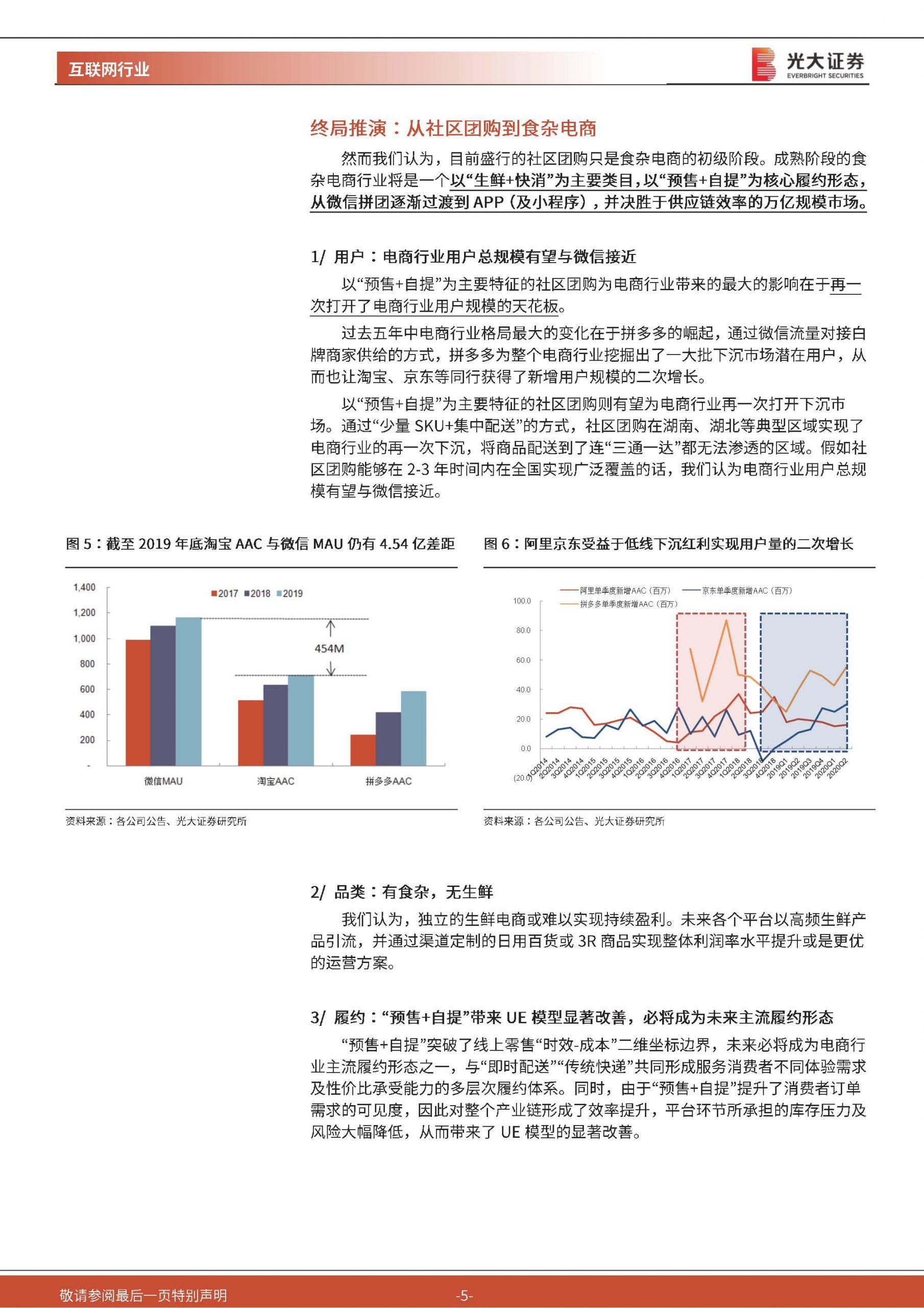 大数据研究报告,光大证券-社区团购,万亿规模红利,寻找能绣花的大象!