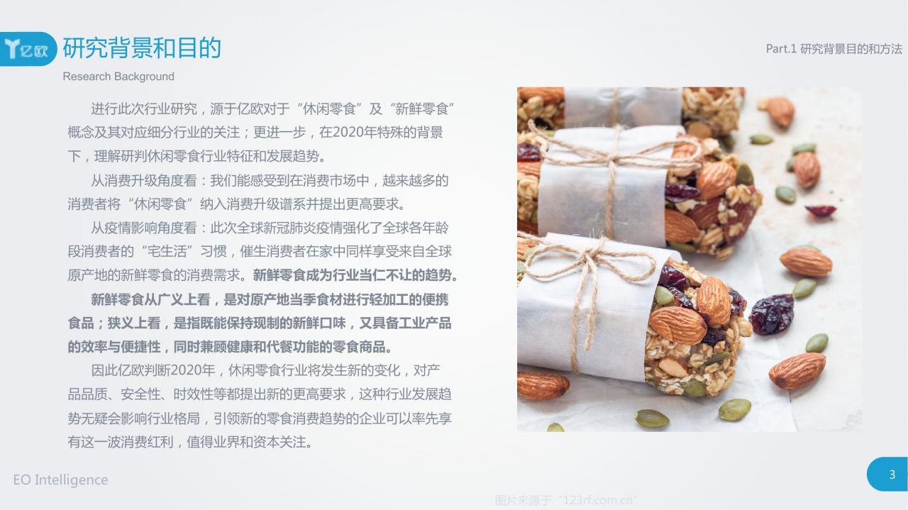 大数据研究报告,亿欧智库-2020中国新鲜零食白皮书!