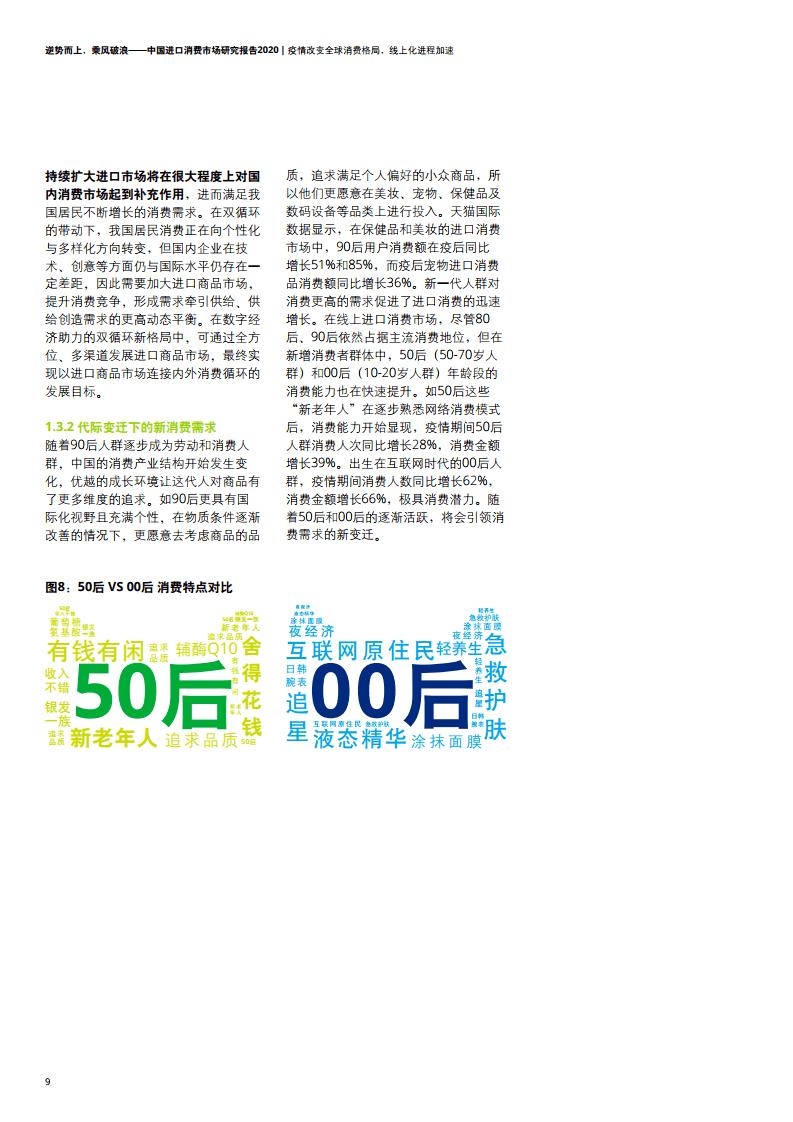 大数据研究报告,德勤&天猫国际-中国进口消费市场研究报告2020!